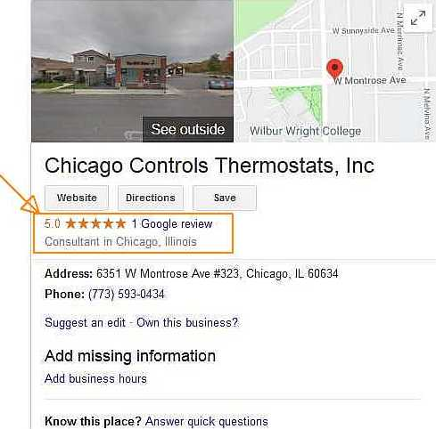 Chicago Controls Google before