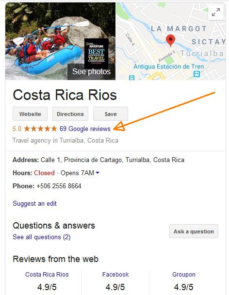 Costa Rica Reviews July