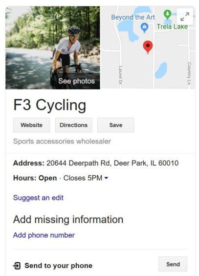 F3 Cycling Google 9-30-2019